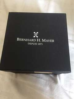 Preloved BernHard H Mayer (wear few times) complete certificate and box