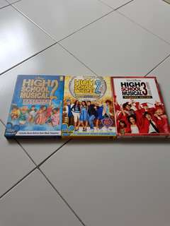 HIGH SCHOOL MUSICAL 2 AND 3 DVD