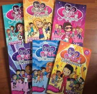 The Go Girl!  English story books