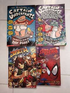 the adventures of captain underpants / joseph the overcomer / you are spiderman