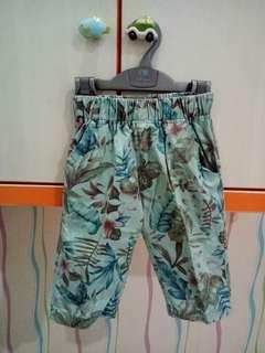 Hawaian Style Blue Pants
