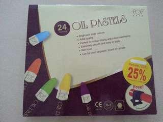 Oil Pastels 24 Colours