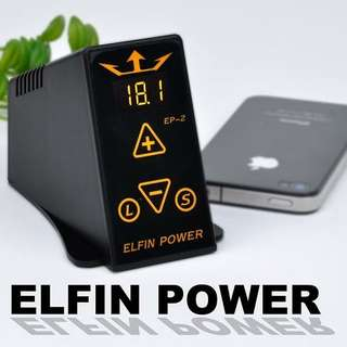Elfin TATTOO POWER SUPPLY LCD  EP-2