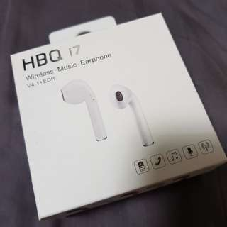 🚚 HBQi7 Wireless Music Earphone (New)