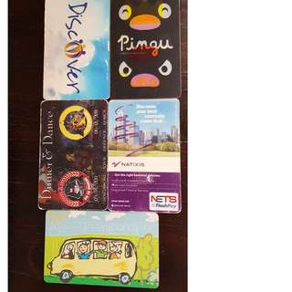 4 dollar Ezlink Cards for Sale