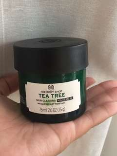 Body Shop Tea Tree Skin Clearing Night Mask
