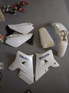 Plastic covers for wr200