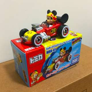 Tomica Disney MRR-01 Mickey Mouse and Racers Hot Rod Mickey Mouse