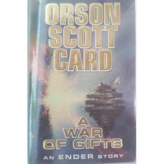 🚚 A War of Gifts - Orson Scott Card