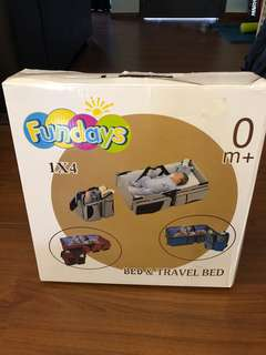 Fundays Bed & Travel Bed ( 2 in 1)