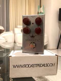 J.Rockett MAJESTY Overdrive Guitar Pedal MADE IN USA