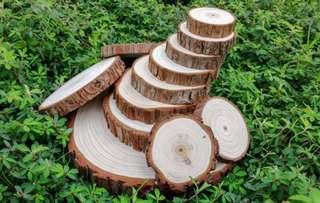 Fake wood plate/ wood slice