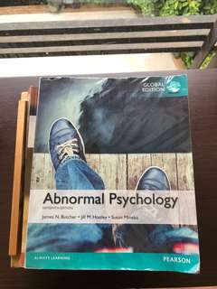 Abnormal Psychology (Pearson)