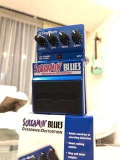 Digitech Screamin Blues Overdrive Guitar Pedal