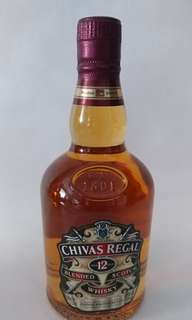 CHIVAS Regal whisky 12年(375ml)