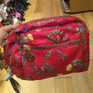 Red flower nylon bag by rubi original