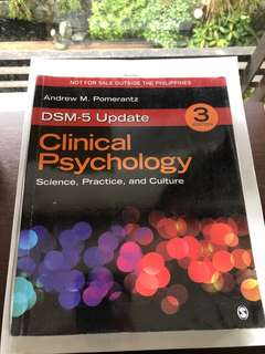 Clinical Psychology (Sage)