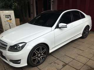 Mercedes benz C250 W250 facelift