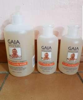 GAIA bath and body wash clearance