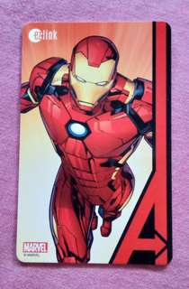 Marvel Ezlink Card with value of $80