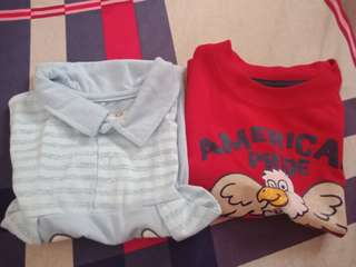 Bundle polo and t shirt
