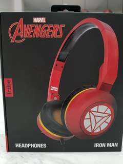 Brand new original Marvel Avengers licensed headphones