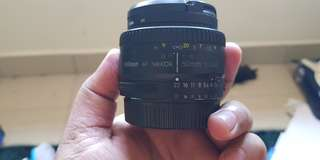 Nikon Nikkor AF 50mm f1.8D