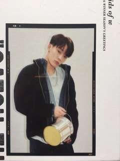 (包郵)iKON Bobby transparent film Return Red Ver. 小卡