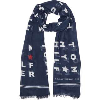 TOMMY HILFIGER  LOGO SCARF圍巾