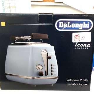 全新 - Delonghi Toaster 多士爐