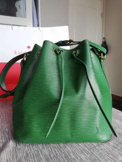 Original Louis Vuitton Noe in Epi Green