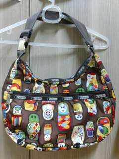 Pre-loved Lesportsac Bag Russian Dolls Authentic