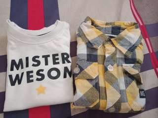 Moose gear polo and prince t shirt