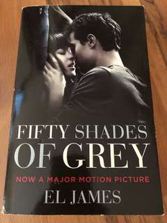 Fifty shades of grey by El James - book