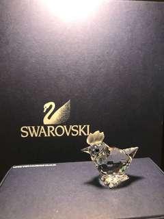 Swarovski 施華洛世奇 水晶擺設 雞仔 crystal han