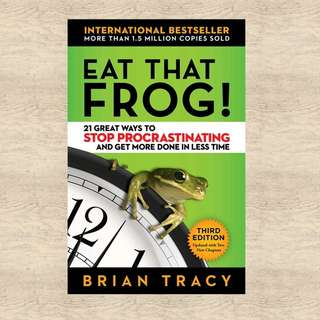 Eat that Frog by Brian Tracy, Bestseller