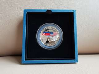 The Singapore Mint Trump-Kim Summit Medallion Coin