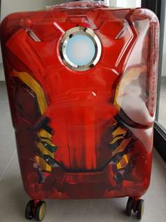 Brand new original Marvel Iron Man red Samsonite 55cm luggage