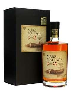 Mars 本枋酒造 3+25 WWA2013全球最佳調和威士忌 *酒標微花  (日本)