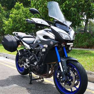 YAMAHA MT-09 TRACER ABS. Reg date 29/03/2016, Mileage 18,600km 1 Owner.