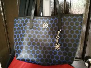 Genuine Michael Kors Kiki Polka Dot Mini Tote