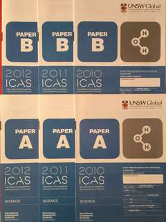 ICAS International Competitions and Assessments for Schools Science Papers with Answer Keys