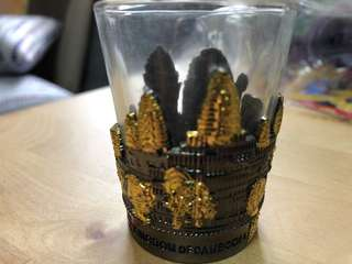 Cambodia Souvenir (small glass)