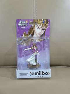 Nintendo Amiibo Princess Zelda super smash brother series