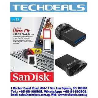 SanDisk SDCZ430 Ultra Fit USB 3.1 Flash Drive 16GB/32GB/64GB/128GB/256GB