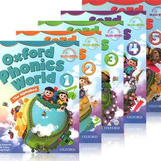 Oxford Phonics World Series (10 Books)