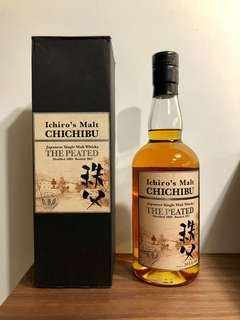 "Ichiro's Malt Chichibu (秩父) ""The Peated"" (Distilled 2009; Bottled 2012)"