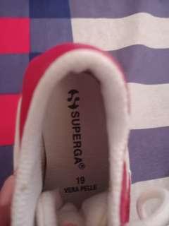 Superga shoes size 19