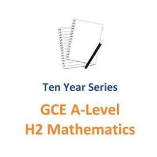 2007-2016 RI / RJC /  H2 Maths / H2 Mathematics / H2 Math / Raffles Institution / exam paper / past paper / Maths