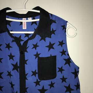 Star Patterned Top
